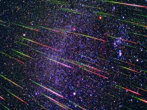 Поток Персеиды, звезды
