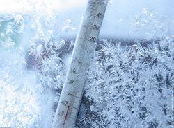 мороз, зима, холод, градусник, -30