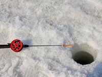 рыбак, зимняя рыбалка