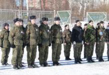 """военно-спортивная игра """"Патриот"""""""