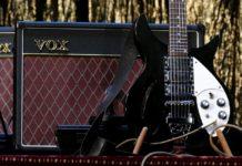 гитара, усилитель, рок, музыка