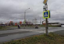 пешеходный переход, перекресток Мира-Победы