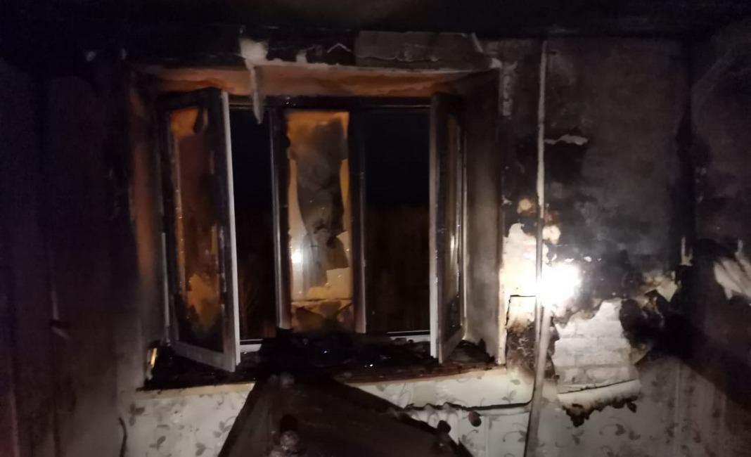 пожар на Васильева