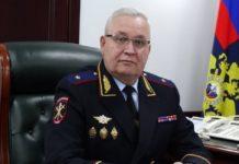 начальник областного главка России генерал-майор полиции Александр Мешков