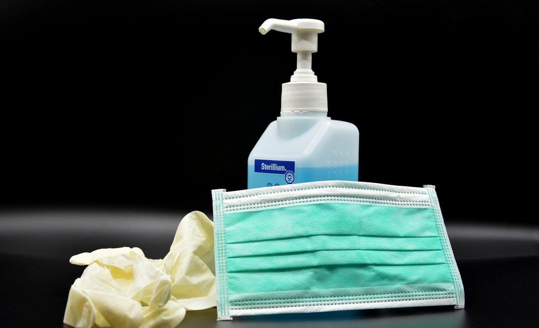 дезинфекция маска перчатки